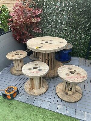 £150 • Buy Wooden Cable Reel Table