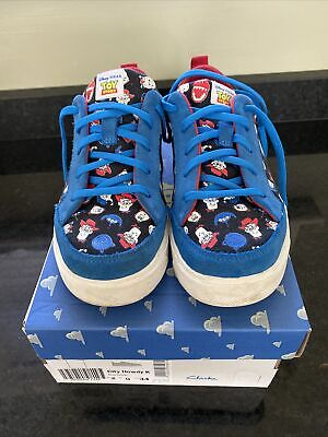 £14 • Buy Clarks Boys Toy Story Trainers Size 2 G