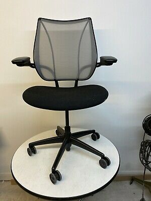 £275 • Buy 35 Used Humanscale Liberty Mesh Office Chair, Adjustable Armrests, Black