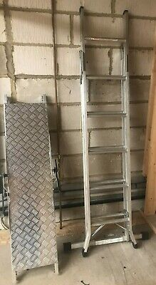 £140 • Buy Werner 75005 Combi 5 Way Ladder Aluminium USED Once