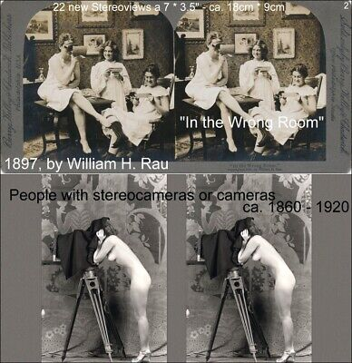 £13.76 • Buy 22 Stereoviews People Whit Stereoscope Viewer Or Camera  Lot 2