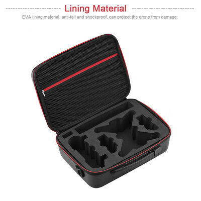 AU43.21 • Buy Waterproof Drone Accessories Storage Bag PU Leather Carrying For DJI Spark