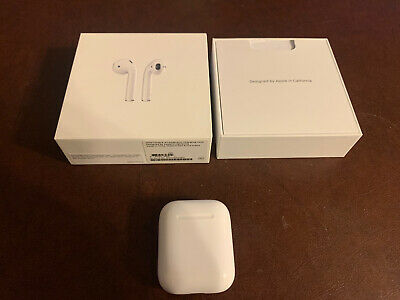 AU57.28 • Buy Apple AirPods 1st Gen A1722 In-Ear Headsets With Charging Case Refurbished