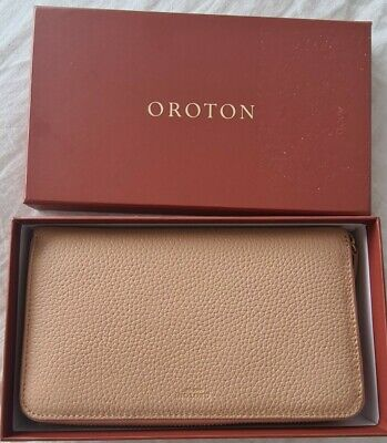 AU59 • Buy Oroton Avalon Large Zip Around Wallet In Biscuit. Rrp $229, SOLD OUT