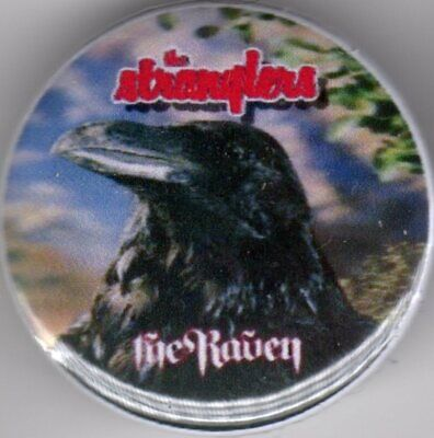£1.15 • Buy THE STRANGLERS - Pin Button Badge - 25mm -THE RAVEN - PUNK ROCK - GOLDEN BROWN