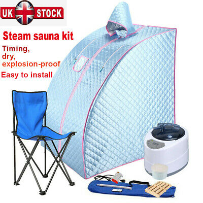 £89 • Buy 2L Steam Sauna Spa Room Home Room Full Body Slimming Detox Therapy Tent + Chair