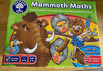 £3 • Buy Orchard Toys Mammoth Maths Game For 5-8 Years