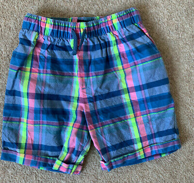 £0.99 • Buy Next Boys Multi Colored Check Shorts Age 5 Years