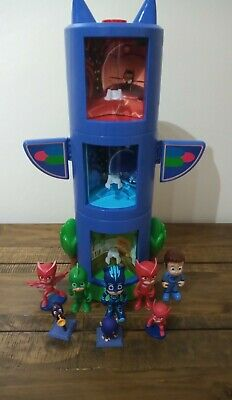 £29 • Buy Pj Mask Transforming Tower With Figures Set