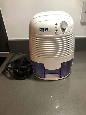 £20 • Buy Coopers Compact Dehumidifer Model He68w 9V Input Damp Removal Bathroom Mould