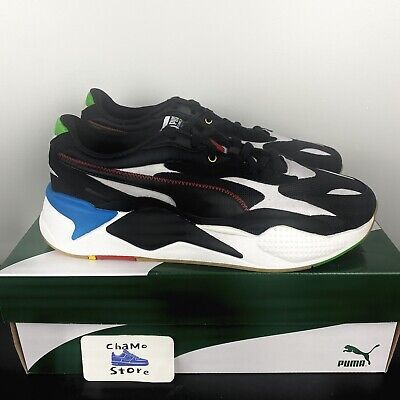 AU120.16 • Buy Puma Men's RS-X3 Unity 373308-02 Black White Blue Red Running Shoes Size 12