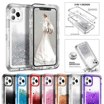 AU16.99 • Buy For IPhone 13 12 11 Pro XS Max XR Girl Bling Glitter Liquid Sand Quicksand Case