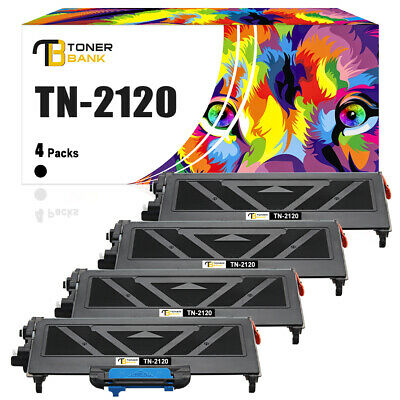 £34.99 • Buy 4x High Yield Toner Compatible For Brother TN2120 2140 HL2150 MFC7320 5200 Pages