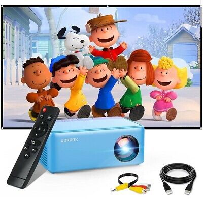 £52.99 • Buy Small Theater Projector With HDMI/USB/Audio/AV Interfaces For IPhone