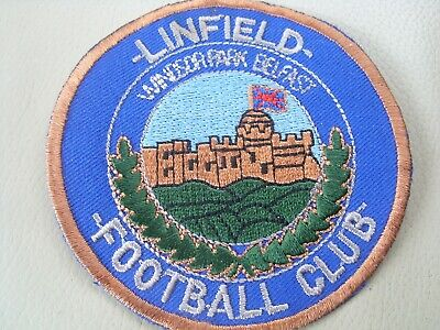 £3.20 • Buy Linfield Fc Sew On Patch / Badge Rangers Chelsea