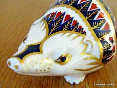 £35 • Buy Royal Crown Derby Hedgehog Paperweight, Ist Quality & Excellent Condition