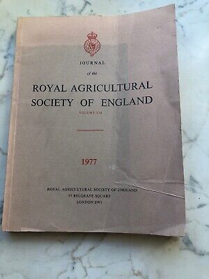 £9.99 • Buy Journal Of The Royal Agricultural Society Of England, 1977, Vol 138
