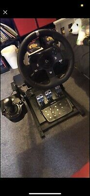 £150 • Buy Logitech Steering Wheel For Xbox. Gaming Chair And Stand