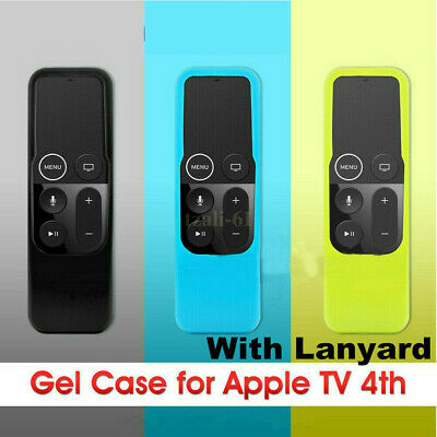 AU15.89 • Buy AU For Apple TV (4th Gen)  Remote Controller Anti Dust Silicone Case Cover Skin