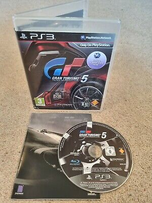 £4.49 • Buy Gran Turismo 5 Driving Simulator - Sony PS3 Game Disc - COMPLETE & MANUAL! VGC!