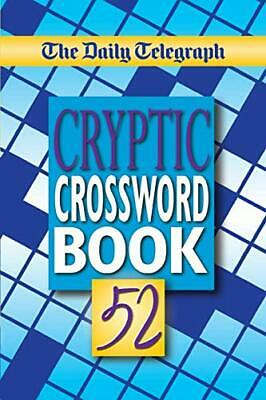 £7.76 • Buy The Daily Telegraph Cryptic Crosswords Book 52 By Telegraph Group Limited, NEW B