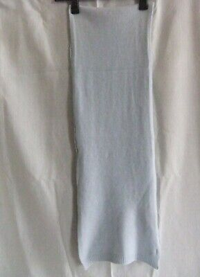 £20 • Buy John Lewis 100% Pure Cashmere Scarf Baby Blue Excellent