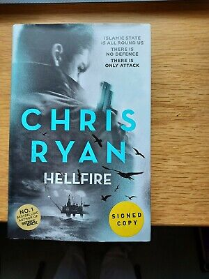 £8 • Buy Chris Ryan: 'Hellfire'; SIGNED UK 1st Hb Edition In VG Condition
