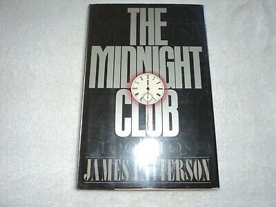 AU12.11 • Buy The Midnight Club By James Patterson (1989, HC, 1st/1st)