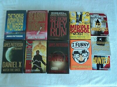 AU38.63 • Buy James Patterson 15 Book Mixed Lot  (See Details Below)