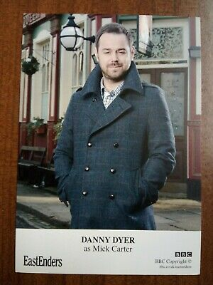 £9.99 • Buy DANNY DYER *Mick Carter* EASTENDERS NOT SIGNED CAST CARD FREE POST
