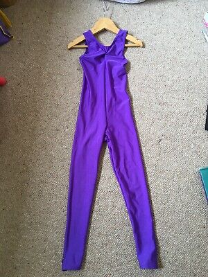 £4 • Buy Girls Dance Catsuit Size 0 Small 1st Position