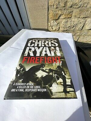 """£15 • Buy Chris Ryan """"Firefight"""" Signed Excellent Condition"""
