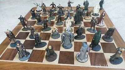 £40 • Buy Job Lot  Lord Of The Rings 33 Large Die-cast Figures-(not A Chess Set)