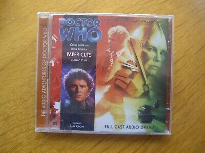 £27.99 • Buy Doctor Who Paper Cuts, 2009 Big Finish Audio Book CD *SEALED, OUT OF PRINT*