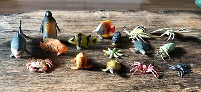£5.50 • Buy Bundle Of Small Toy Sea Creatures And Insects