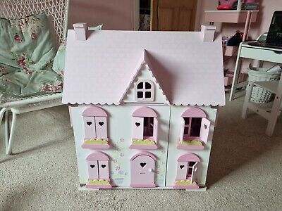 £20 • Buy ELC Wooden Dolls House With Furniture & Figures, NORTHAMPTON