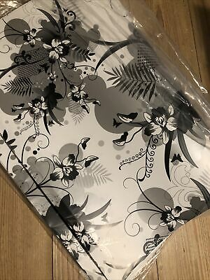 £1.40 • Buy White Floral Wrapping Paper X 2 Sheets - Wedding - Birthday - Gift