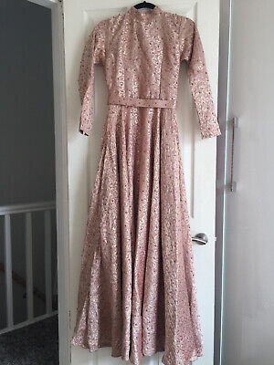 £43 • Buy Wedding, Prom Gown, Asian ,Pakistani  Indian. Pink/rose Gold