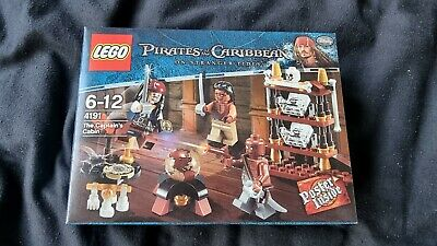 £36.95 • Buy LEGO 4191 Pirates Of The Caribbean - The Captain's Cabin BNISB