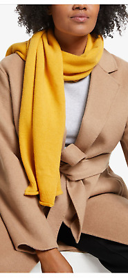 £30 • Buy John Lewis Soft Pure Cashmere Scarf, Ochre, RRP £60