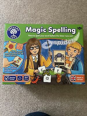 £5 • Buy Orchard Toys Magic Spelling Game Age 5-7 Excellent Condition