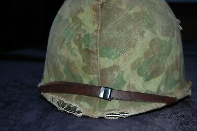 £25 • Buy WW2 USMC M1 HELMET COVER Selling As Replica Could Be Real (helmet Not Included)