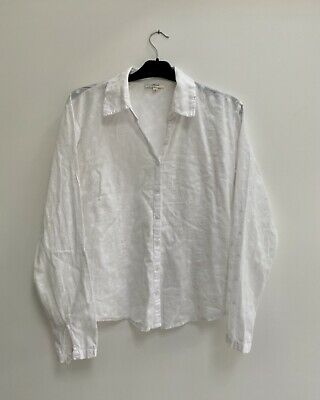 £3.50 • Buy Mistral White Floral Blouse Size 12