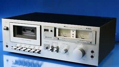 £28.23 • Buy AIWA M250 -- LH BIAS Selector  Stereo Cassette Deck Made In Japan