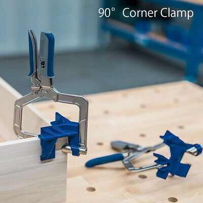£15.69 • Buy 90° Right Angle Clamps Corner Clamp Tools For Carpenter Wood-working UK