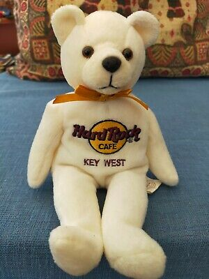 £3 • Buy HARD ROCK CAFE KEY WEST Beanie BEAR (Peter Beara) Height Approx 9in Collectable