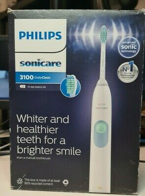 AU9.18 • Buy G59 Philips Sonicare 3100 Electric Toothbrush - Sonic Cleaned, New Head