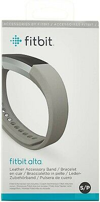 AU18.39 • Buy Fitbit Alta Graphite Leather Strap/Band - Accessory Only - SMALL