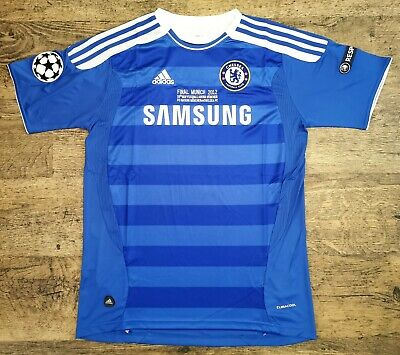 £34 • Buy Chelsea Fc 2012 Home Jersey Blue Adidas Size Large New Champions League Final