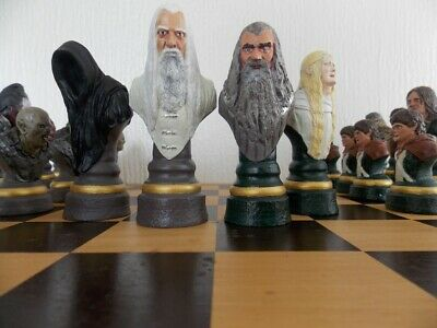 £65 • Buy Lord Of The Rings Chess Set. Professionally Hand Painted.